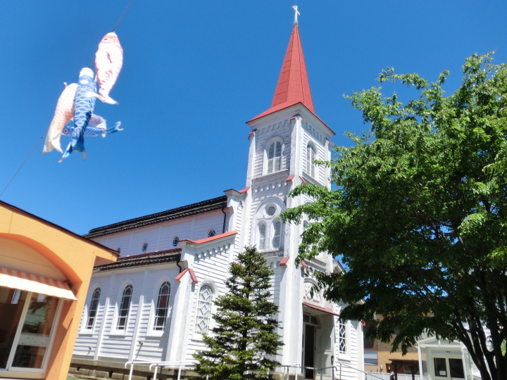 鶴岡カトリック教会 天主堂